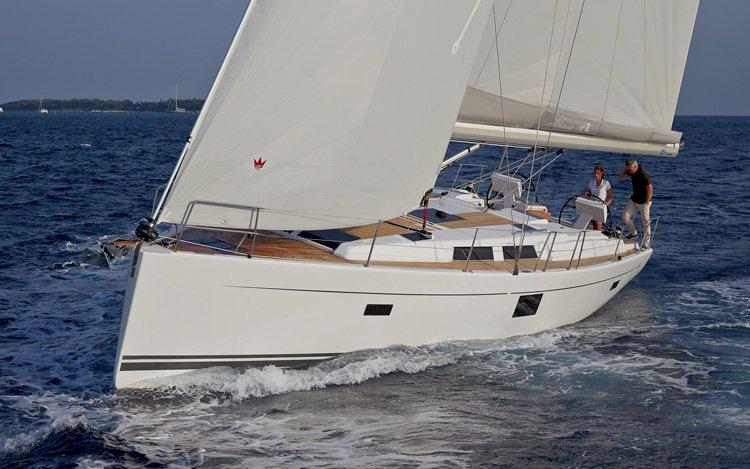 Boat for rent Hanse Yachts 45.0 feet in Marina Kastela, Kastela, Croatia