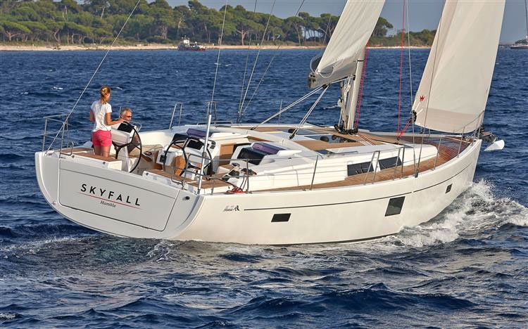 This 45.0' Hanse Yachts cand take up to 10 passengers around Split region