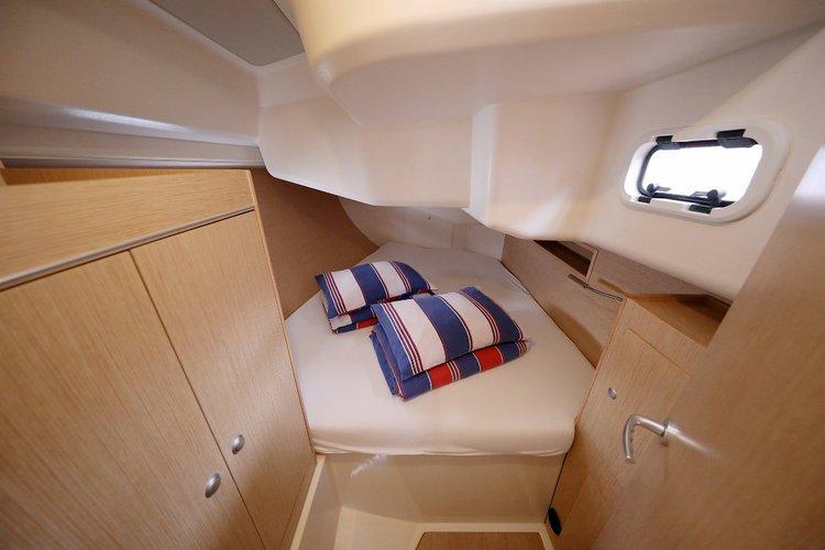 Boat for rent Hanse Yachts 45.0 feet in Marina Sangulin, Biograd, Croatia