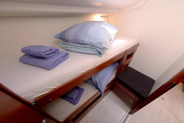 This 50.0' Hanse Yachts cand take up to 11 passengers around Dubrovnik region