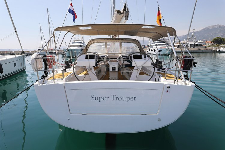 Discover Split region in style boating on this sailboat rental