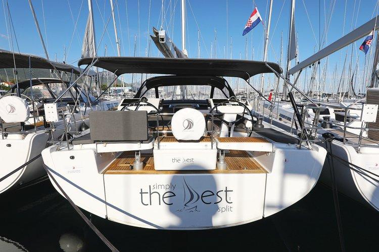 Discover Split region surroundings on this Hanse 548 Hanse Yachts boat