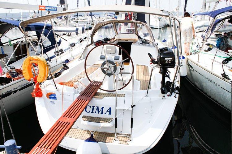 Charter this amazing sailboat in Zadar region