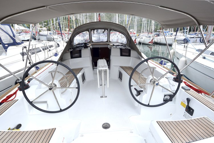 Boat for rent Jeanneau 37.0 feet in ACI Marina Dubrovnik (Komolac) , Croatia