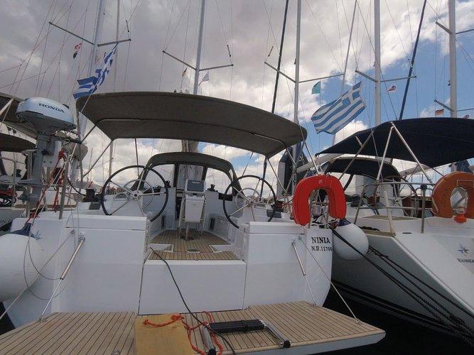 Boat for rent Jeanneau 41.0 feet in Athens - Marina Alimos (Kalamaki), Greece