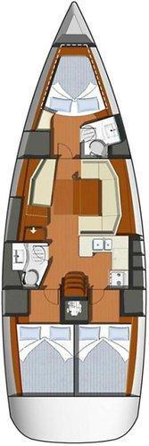Boat for rent Jeanneau 42.0 feet in Cyclades, Greece