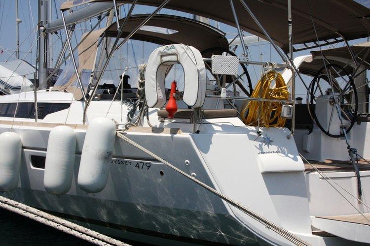 Jeanneau's 47.0 feet in Aegean