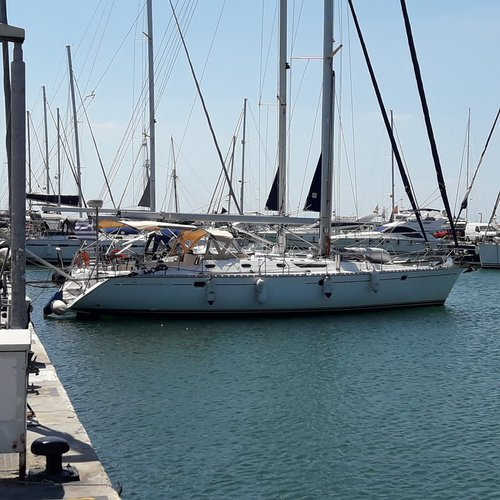 Experience Saronic Gulf, GR on board this amazing Jeanneau Sun Odyssey 52.2