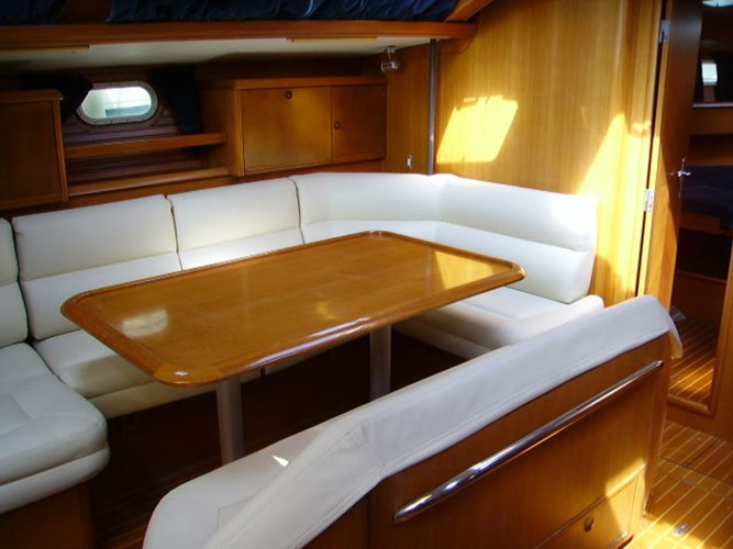 Discover Saronic Gulf surroundings on this Sun Odyssey 52.2 Jeanneau boat