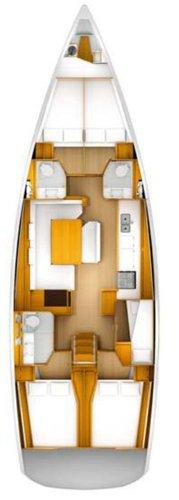 Boat for rent Jeanneau 51.0 feet in Yachtclub Seget (Marina Baotić), Seget Donji, Croatia