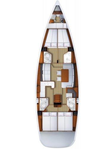 Jeanneau's 52.0 feet in Aegean