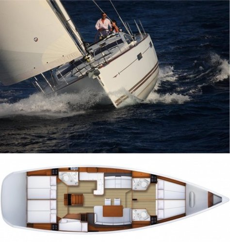 Boat for rent Jeanneau 52.0 feet in Campania, Italy