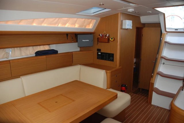 Discover Campania surroundings on this Jeanneau 53 Jeanneau boat