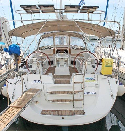 Rent this Jeanneau Jeanneau 53 for a true nautical adventure
