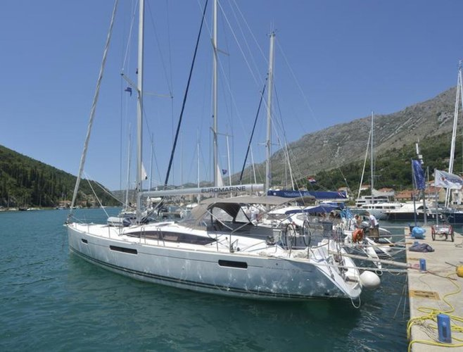 Sail Dubrovnik region, HR waters on a beautiful Jeanneau Jeanneau 53