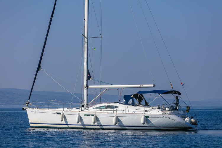 Discover Split region surroundings on this Sun Odyssey 54 DS Jeanneau boat