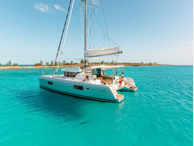 Experience Athens, GR on board this amazing Lagoon Lagoon 42