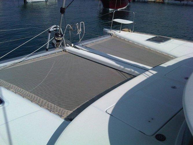 Catamaran boat rental in Campania, Italy