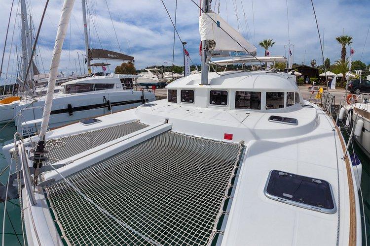 Boat for rent Lagoon-Bénéteau 37.0 feet in Corfu (Gouvia marina), Greece