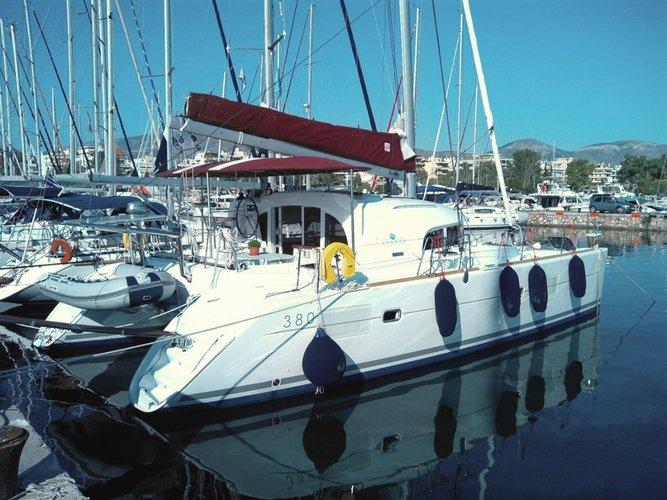 Experience Saronic Gulf, GR on board this amazing Lagoon-Bénéteau Lagoon 380 S2