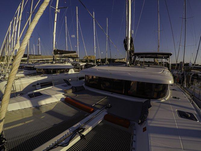 Boat for rent Lagoon-Bénéteau 41.0 feet in Cyclades, Greece