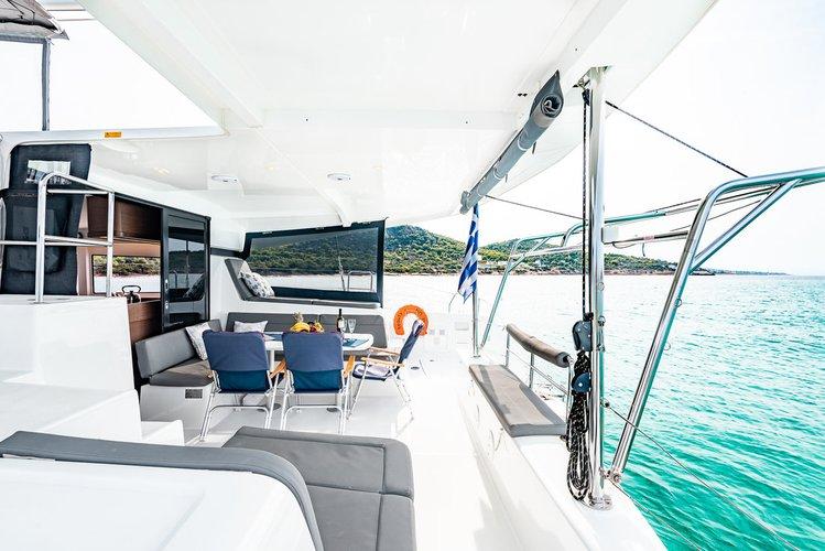 Catamaran boat rental in Athens, Marina Alimos (Kalamaki), Greece