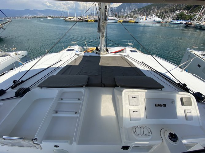 Boat for rent Lagoon-Bénéteau 45.0 feet in Aegean, Turkey