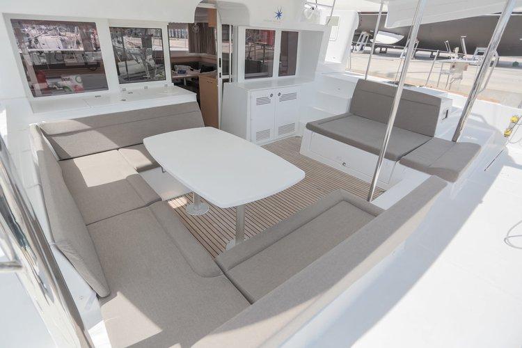 Boat for rent Lagoon-Bénéteau 45.0 feet in Yachtclub Seget (Marina Baotić), Seget Donji, Croatia