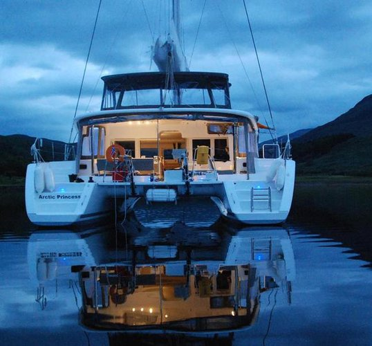 Experience Troms on board this elegant sailboat