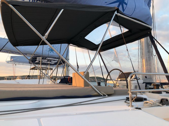 Boat for rent Lagoon-Bénéteau 48.0 feet in Yachtclub Seget (Marina Baotić), Seget Donji, Croatia