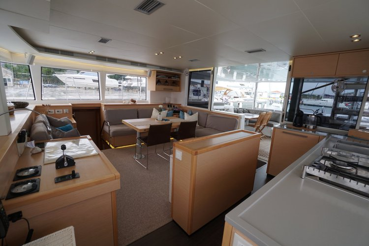 This 56.0' Lagoon-Bénéteau cand take up to 11 passengers around Split region