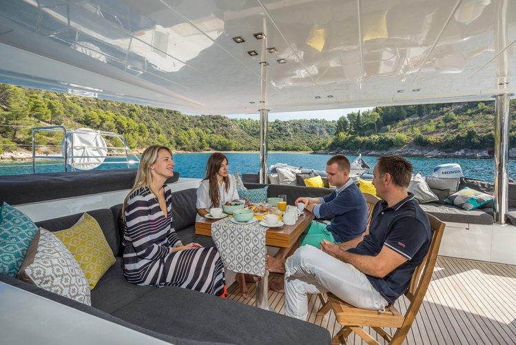 This 56.0' Lagoon-Bénéteau cand take up to 10 passengers around Split region