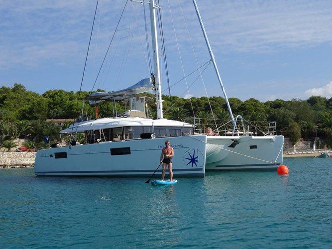 Catamaran boat rental in Yachtclub Seget (Marina Baotić), Seget Donji, Croatia