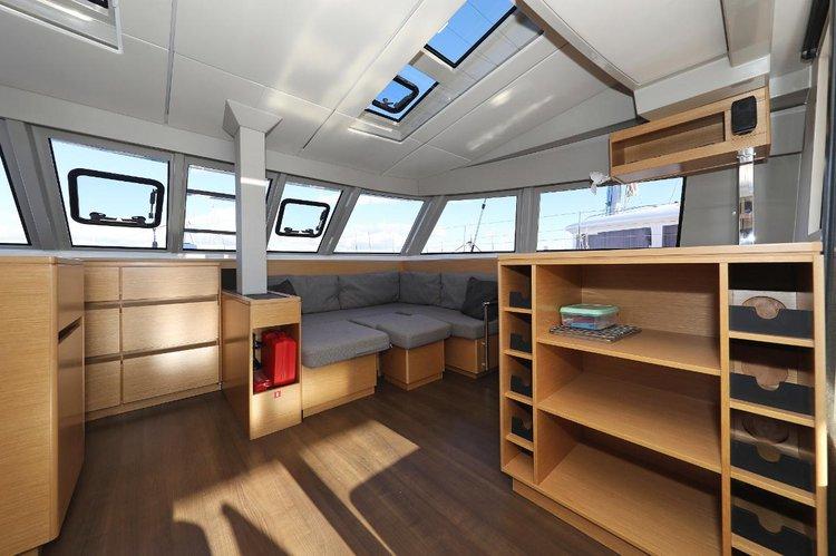 Catamaran boat for rent in Zadar region
