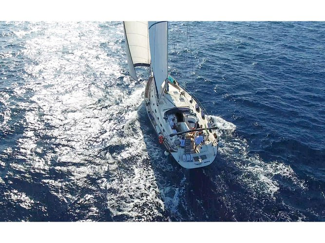 Discover Rome in style boating on this sailboat rental