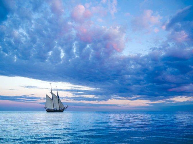 Romantic Pirate Ship Sunset Charter