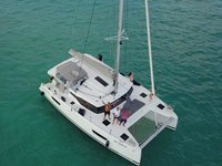 Sail the beautiful waters of  on this cozy Fountaine Pajot Astréa 42