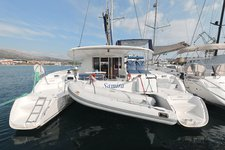 Enjoy luxury and comfort on this Fountaine Pajot Orana 44 in