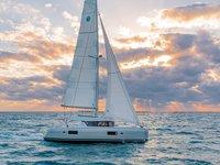 Experience Furnari, IT on board this amazing Lagoon Lagoon 42