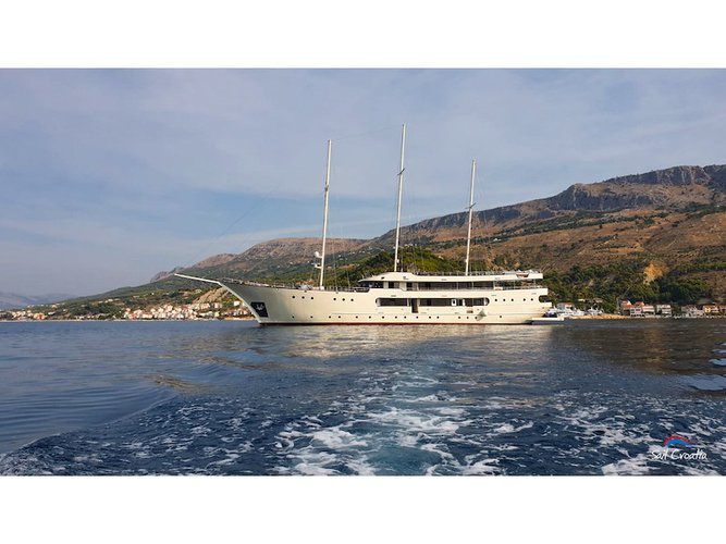 Rent this  Motoryacht Salve di Mare for a true nautical adventure