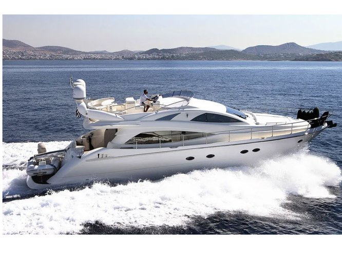 Climb aboard this  Aicon 54s for an unforgettable experience