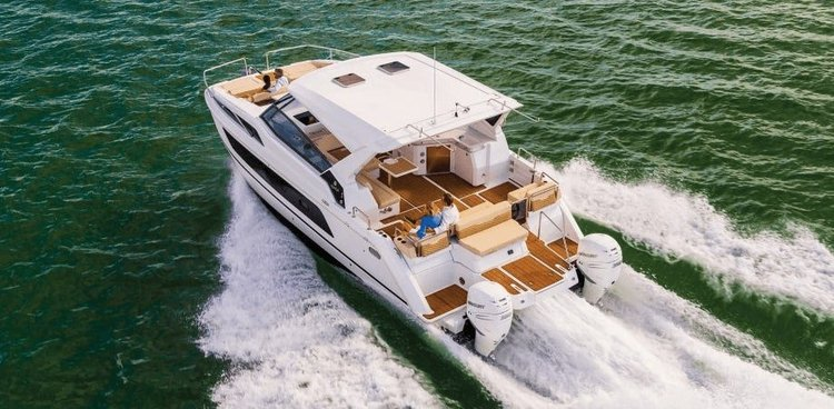 Boating is fun with a Catamaran in Sag Harbor