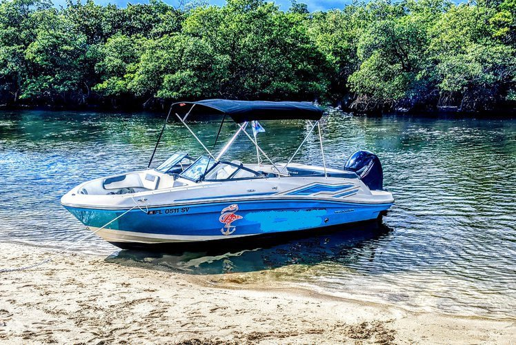 Best price -  boat rental with gas + parking + ice & water
