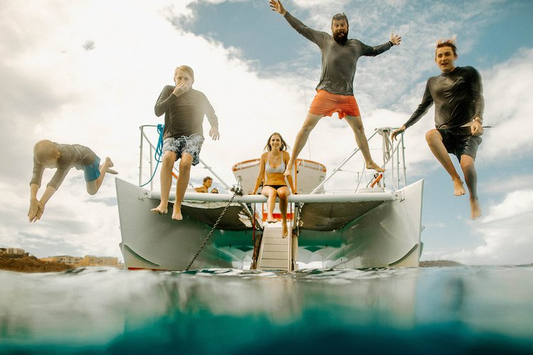 Full Day Snorkel & Island Hopping in the USVIs or BVIs