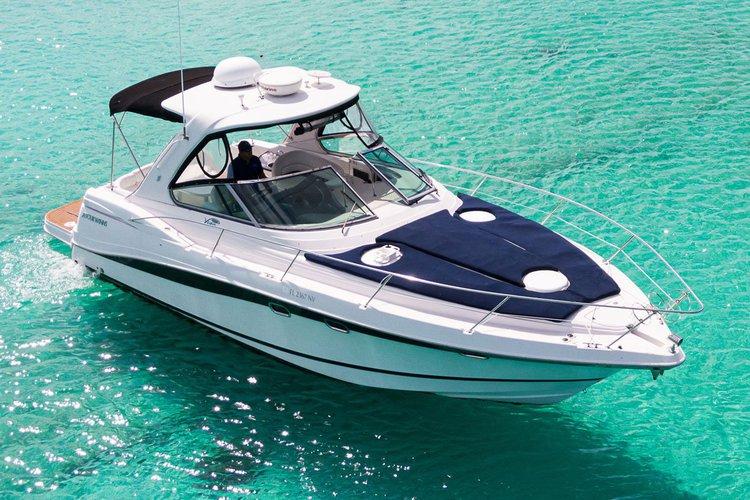 Motor yacht boat rental in Puerto Aventuras Marina\, Mexico