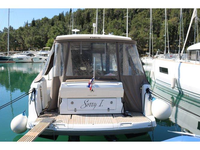 Rent this Jeanneau Jeanneau NC-11 Ownerversion for a true nautical adventure