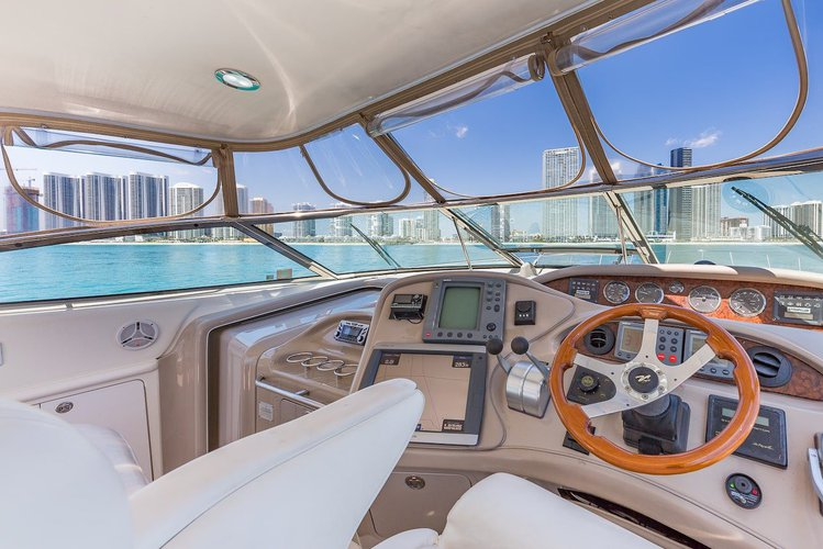 Boat for rent SeaRay 55.0 feet in Harbor West Marina,