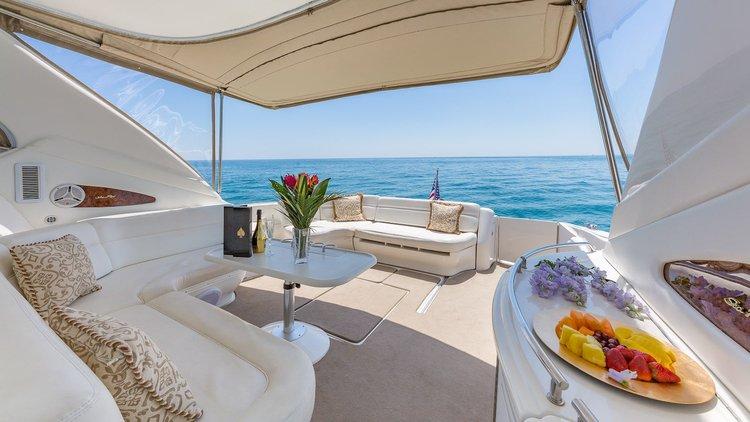Affordable 55' Searay Rental in Miami (Jet Ski Included)