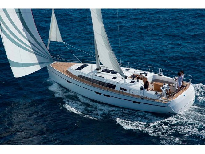Get on the water and enjoy Sami - Kefalonia in style on our Bavaria Yachtbau Bavaria Cruiser 46_2021