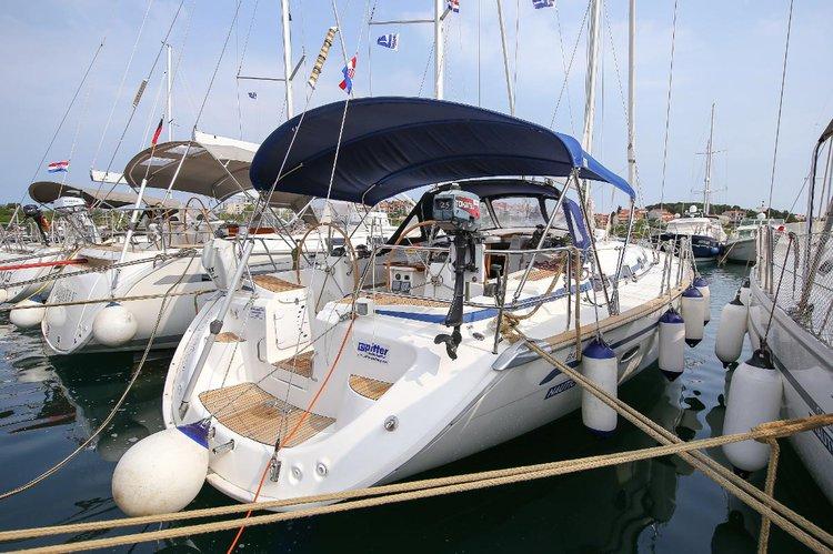 This 51.0' Bavaria Yachtbau cand take up to 11 passengers around Istra